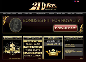 21Dukes Casino Home