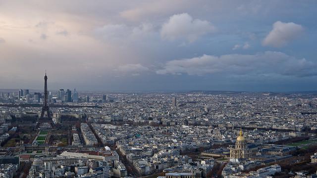 L'hiver approche à Paris