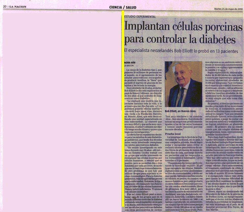 Diario La Naci¢n 25-5-10