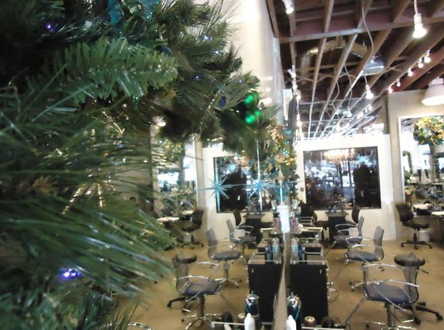 Decorating Ideas > Christmas Decorations Are Up At AvantGarde Salon And Spa  ~ 064703_Christmas Decoration Ideas Salon