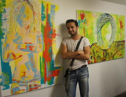 Helmi Mubarak und seine Kunst