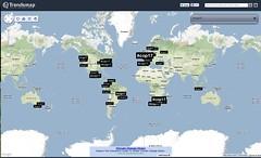 Trending Map #COP17
