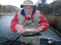 Martin pleased with another Klamath River steelie