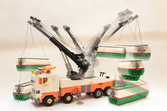 Heavy -Duty Wrecker - Slider Rotator Boom