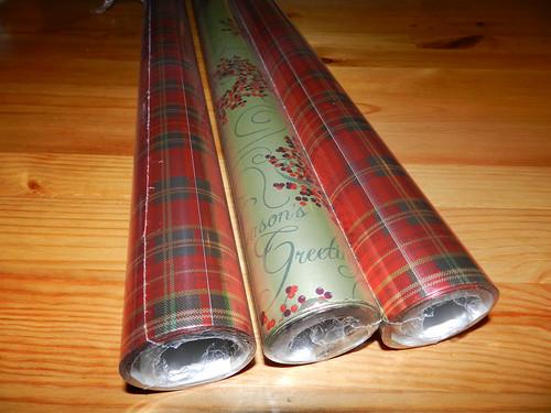 Christmas wraps
