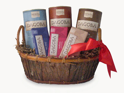 Dagoba Chocolate Lovers Gift Basket