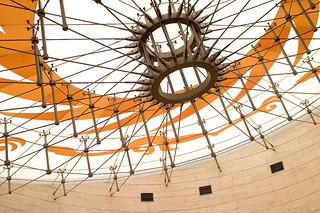 Glass ceiling, Jinsha site museum, 2011 by Juha Riissanen