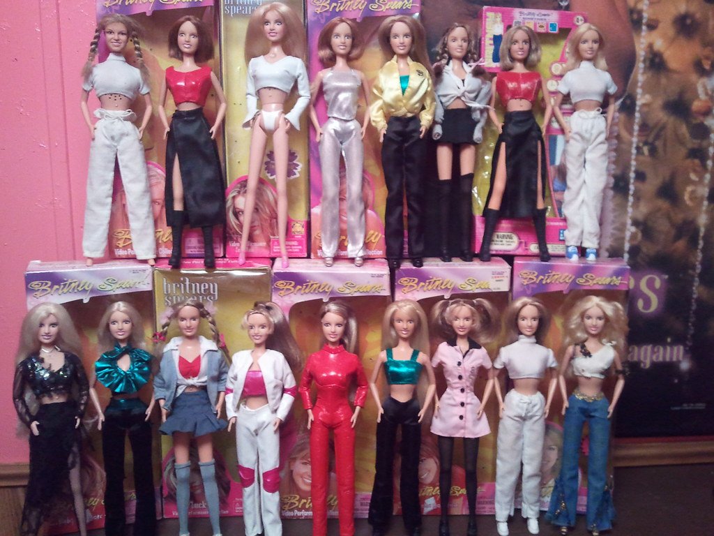 My Britney Spears Doll Collection Zachary Whitted Flickr