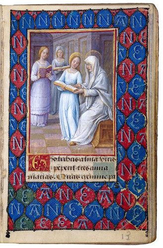 009-Prayer Book of Anne de Bretagne-siglo XV-Jean Poyer-© The Morgan Library & Museum