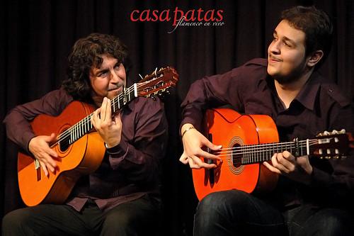 Ramón y Aquilino Jiménez. Foto: Martín Guerrero