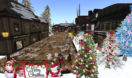 Relay for Life Christmas Expo in Second Life