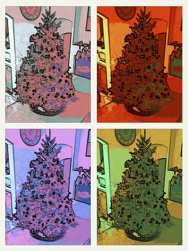 Day 346 - Pop Art Tree