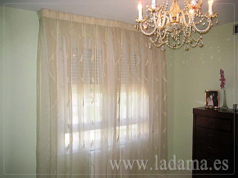 Cortinas Dobles decoración