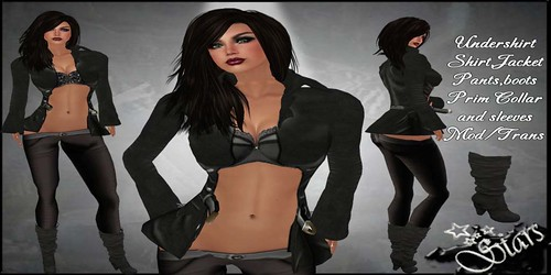 Stars Fashion - Tricia Elegant (with jacket), PROMO 99 lindens by Cherokeeh Asteria