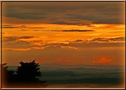 sunset sky germany deutschland sonnenuntergang view frankfurt himmel aussicht sicht