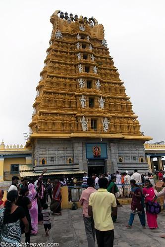 Gopuram, Sri Chamundeswari