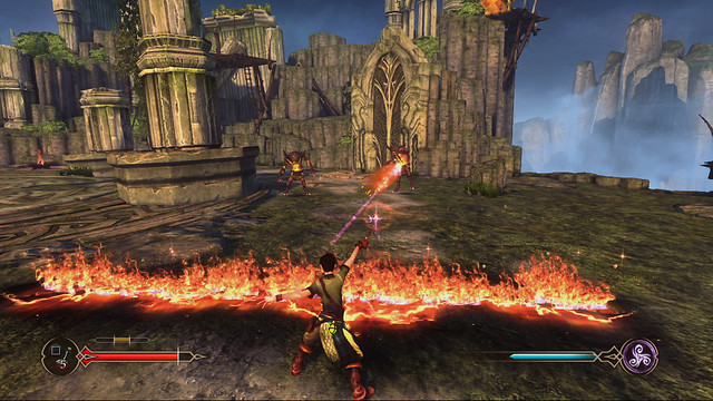 Sorcery for PS3: Bogies Fire Wall