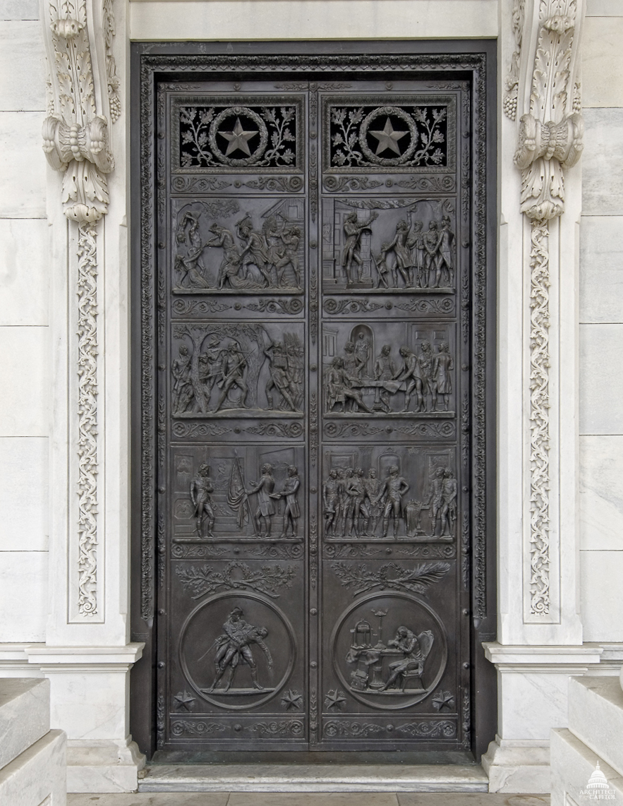 DOWNLOAD & House Bronze Doors | Architect of the Capitol | United States Capitol