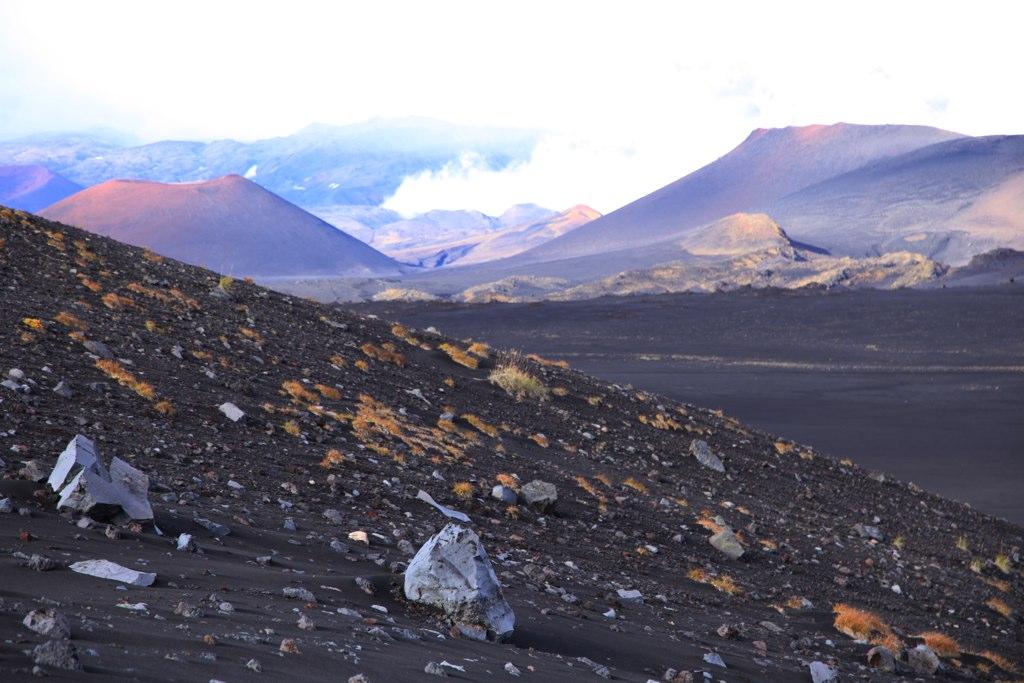 Kluchevskoy Nature Reserve. Tolbachik Volcanic Massif,