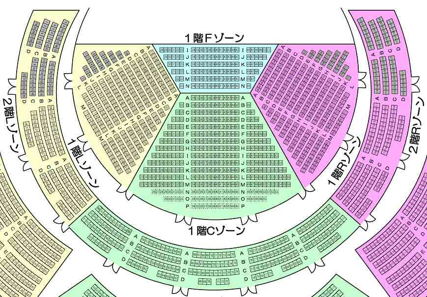 仙台サンプラザホール座席表 Flickr Photo Sharing