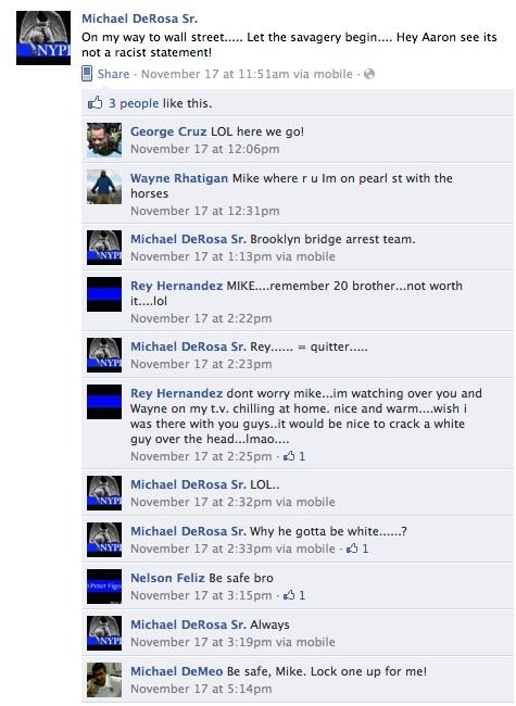 Michael DeRosa Sr., Facebook Cop?