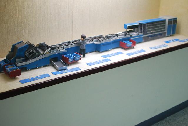 the sorting machine model