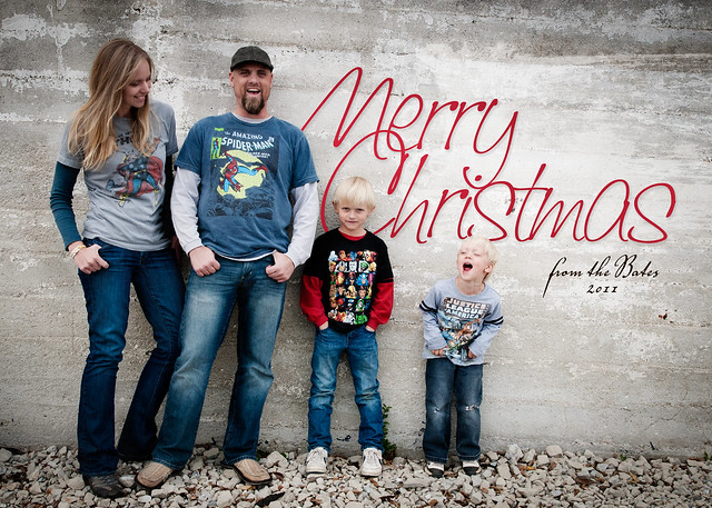 Family Christmas Card 2011