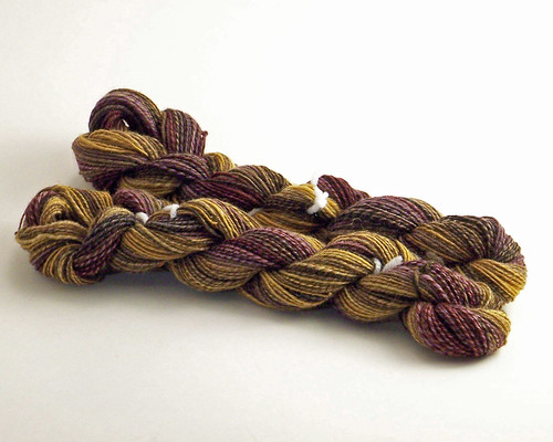 Autumn Leaf -Second half of yarn