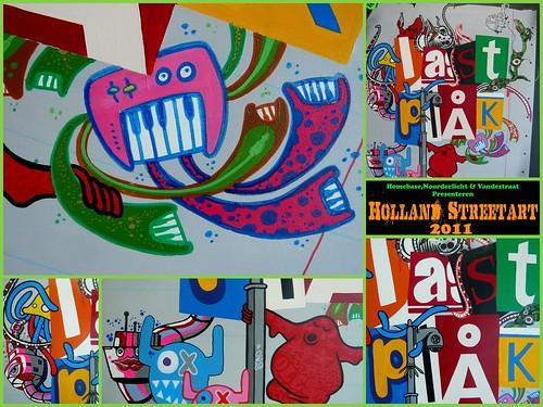 Holland Streetart 2011 - Lastplak