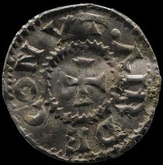 Silver penny of Harthacnut