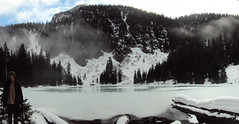 Evgeny at the lake pano