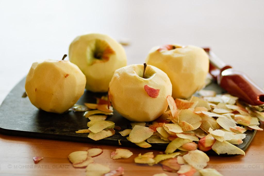 Peeling Honeycrisp Apples
