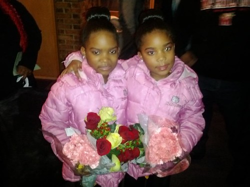 Young Dupree Girls Shine at Nutcracker Suite recital yesterday in Baltimore in front of packed house
