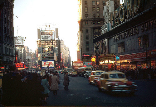 Times Square, New York City - 1948