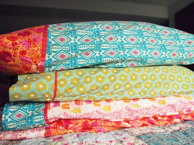 flannel pillowcases!