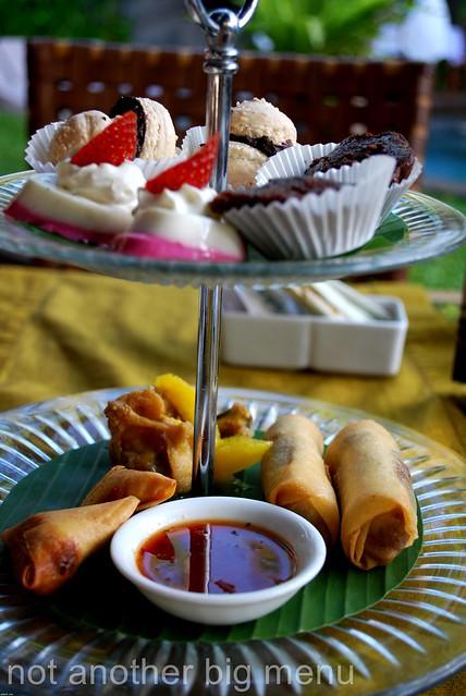 The Elysian, Bali - Afternoon tea