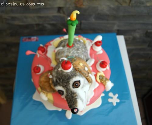 Tarta perro 2