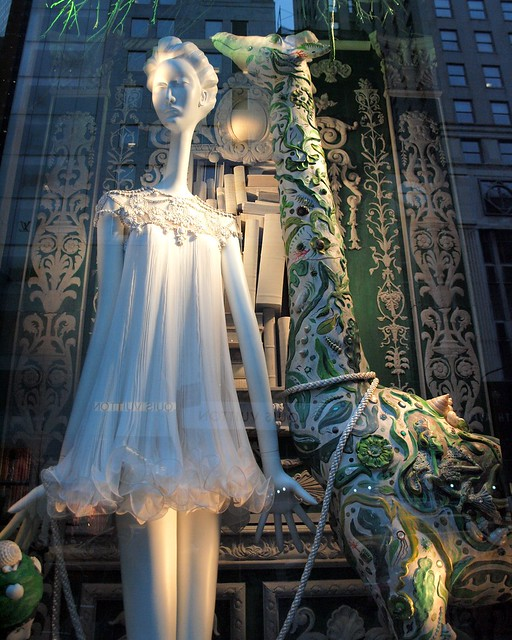 Bergdorf Goodman CARNIVAL OF THE ANIMALS Holiday Window Display, New York City