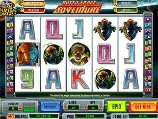 Outta Space Adventure slot game online review