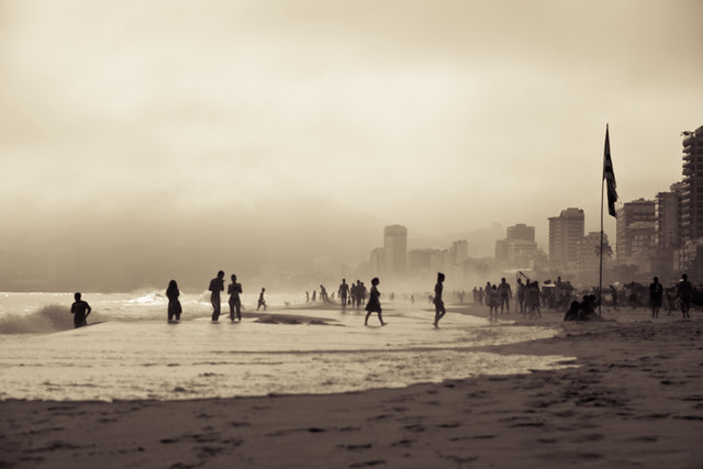SoulB | Visual | Even cloudy Rio is wonderful | Photo shot at Ipanema beach, Rio de Janeiro, Brazil | Travel Photography