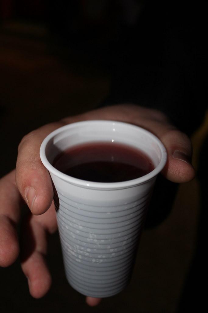 Un vaso de Forralt Bor