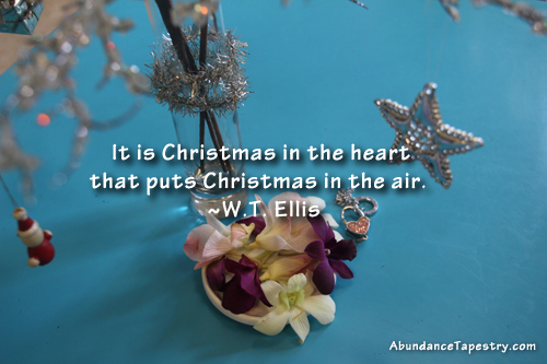 Christmas Quote: Christmas in the Heart