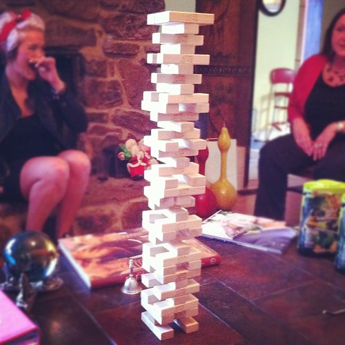 Getting taller #jenga