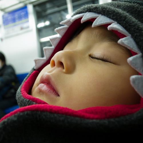Tobias Asleep