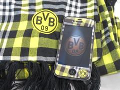 J-Straps Borussia Dortmund (BVB) Schutzfolie für das Apple iPhone 4/4S