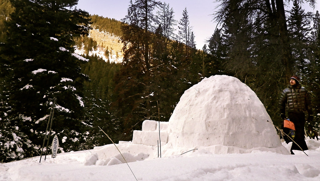 how to build an igloo going places quietly. Black Bedroom Furniture Sets. Home Design Ideas