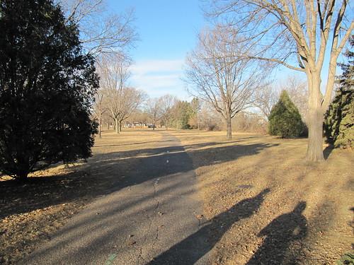 Running on Victory Memorial Parkway