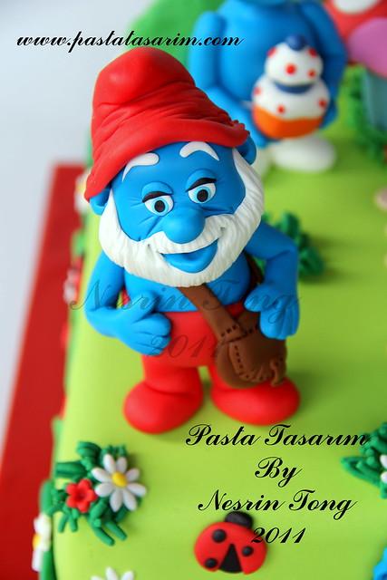 SUMURFS CAKE- ATA BERK BIRTHDAY CAKE