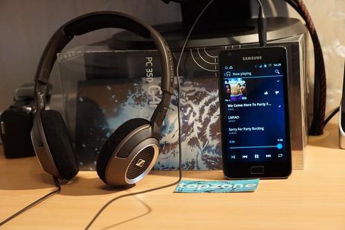 Sennheiser HD 239 (West) ausinės MP3 grotuvui
