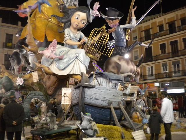 Falla de Valencia
